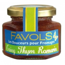 Confit Fromager Coing-Thym-Romarin