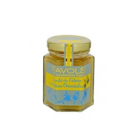 Confit de Citron aux Épices Orientales