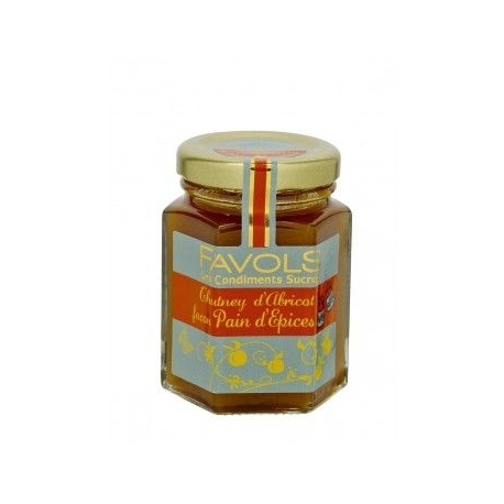 Chutney d'Abricot façon Pain d'Épices