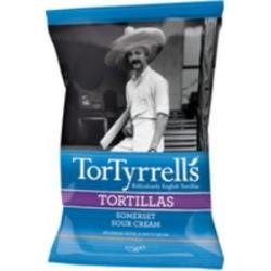 Tortillas crème aigre douce du Somerset