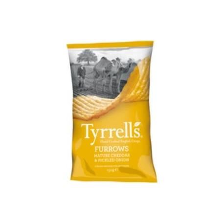 Chips ondulées Cheddar et Oignons